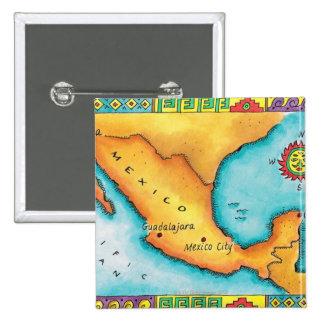 Mapa de México Pin