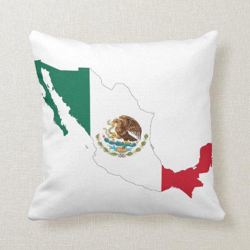 MAPA DE MÉXICO COJINES