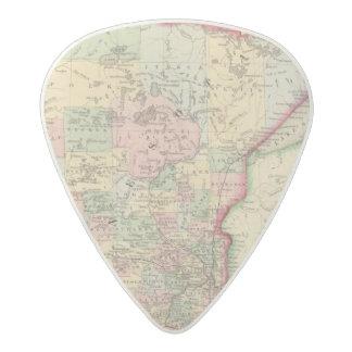 Mapa de Minnesota de Mitchell Plectro De Acetal