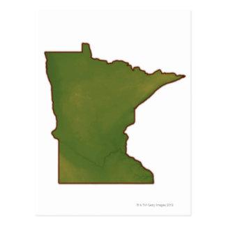 Mapa de Minnesota Postal