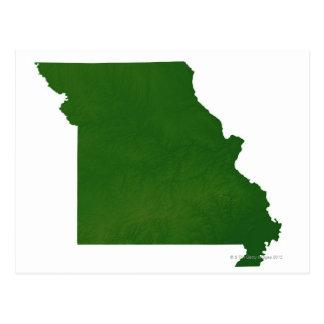 Mapa de Missouri Postal