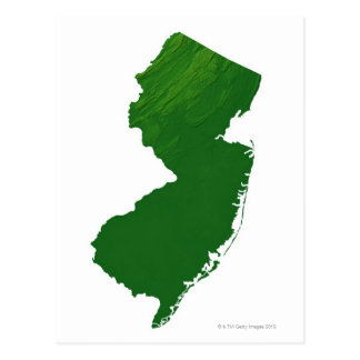 Mapa de New Jersey 2 Postal
