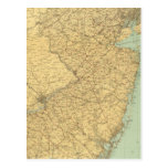 Mapa de New Jersey Postal