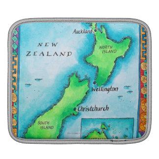 Mapa de Nueva Zelanda Manga De iPad