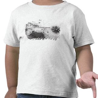 Mapa de países camiseta