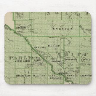 Mapa de rápido, Minnesota Alfombrillas De Ratones