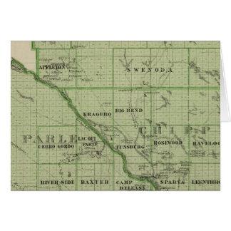Mapa de rápido, Minnesota Felicitaciones
