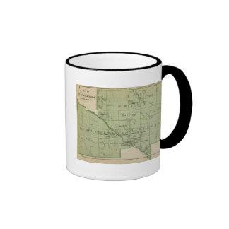 Mapa de rápido, Minnesota Taza De Café