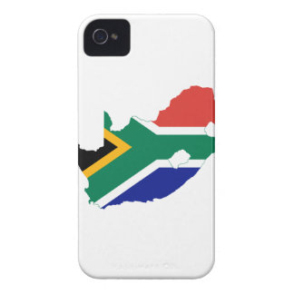 MAPA DE SURÁFRICA Case-Mate iPhone 4 FUNDAS