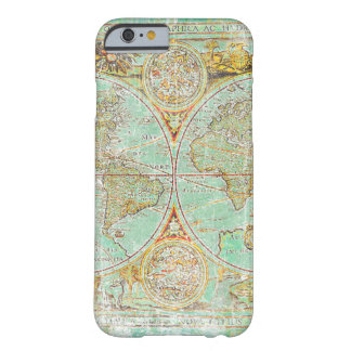 Mapa de Viejo Mundo Funda Barely There iPhone 6