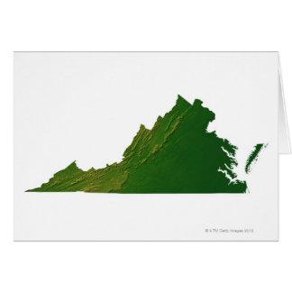 Mapa de Virginia Tarjetón