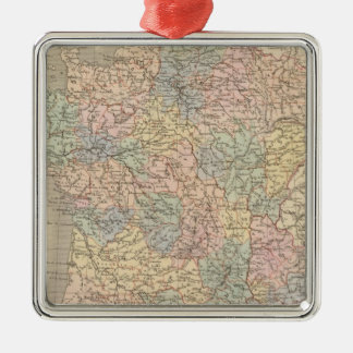 Mapa del atlas de Francia Ornamentos De Reyes