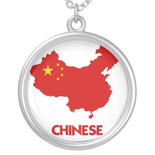 MAPA DEL CHINO COLGANTES PERSONALIZADOS
