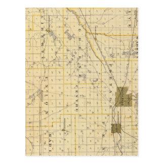 Mapa del condado de San José Postal