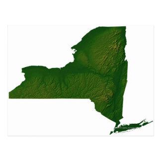 Mapa del Estado de Nuevo York Postal