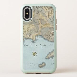 Mapa del golfo de Nápoles y de los alrededores
