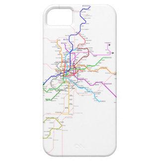 Mapa del metro de Madrid (España) iPhone 5 Cobertura