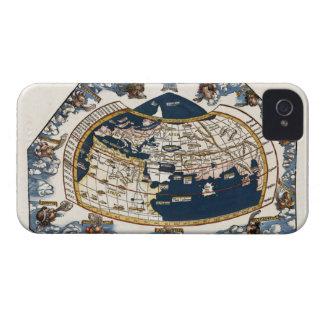 Mapa del mundo 1535 iPhone 4 protectores