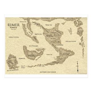 Mapa del mundo 2009 de Rimarian Postal