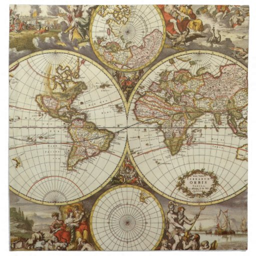 Papel mapas antiguos images - Papel pintado mapa del mundo ...
