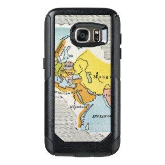 MAPA DEL MUNDO, c1300. Funda Otterbox Para Samsung Galaxy S7