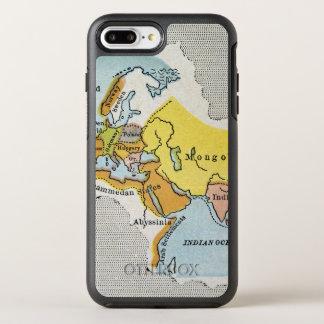 MAPA DEL MUNDO, c1300. Funda OtterBox Symmetry Para iPhone 7 Plus