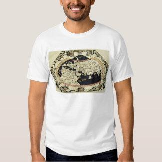 Mapa del mundo camisas