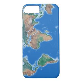Mapa del mundo del teléfono de la célula global funda iPhone 7
