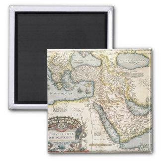 Mapa del Oriente Medio Imán Cuadrado
