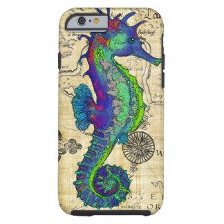 mapa del papiro del seahorse funda resistente iPhone 6