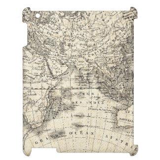 Mapa del vintage de Europa y de Asia