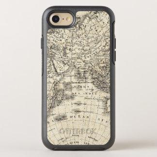 Mapa del vintage de Europa y de Asia Funda OtterBox Symmetry Para iPhone 8/7