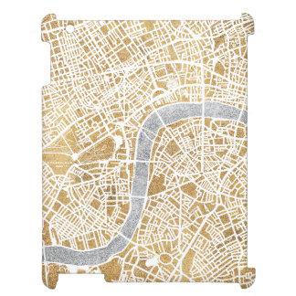 Mapa dorado de la ciudad de Londres
