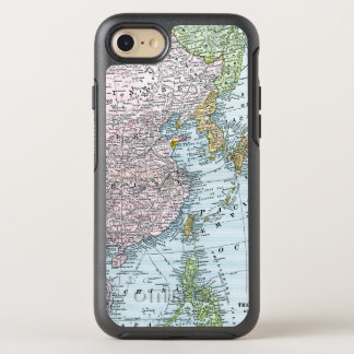 MAPA: EL ESTE DE ASIA, 1907 FUNDA OtterBox SYMMETRY PARA iPhone 8/7