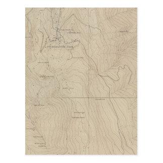 Mapa especial del atlas del parque de Tourtelotte Postal
