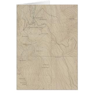 Mapa especial del atlas del parque de Tourtelotte Tarjeta