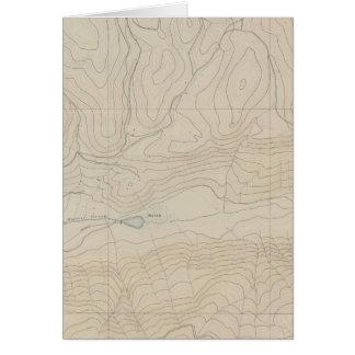 Mapa especial del atlas del parque de Tourtelotte Tarjeta De Felicitación