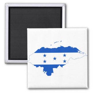 Mapa HN de la bandera de Honduras Iman De Frigorífico