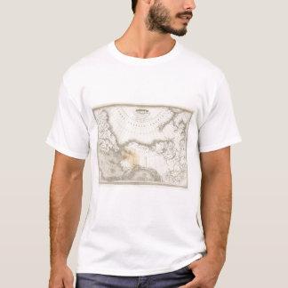 Mapa incoloro de Norteamérica Camiseta