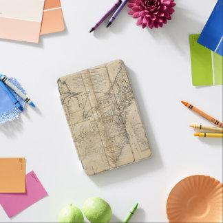 MAPA: Los E.E.U.U., 1783 Cubierta De iPad Mini