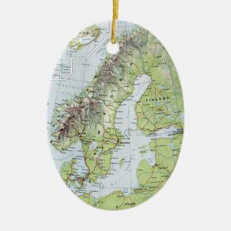 Regalos Mapa De Noruega  Zazzlees