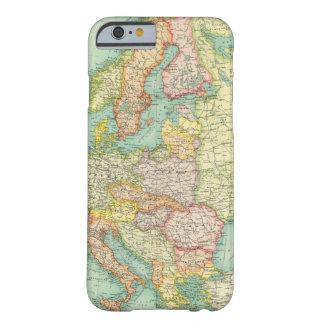 Mapa político de Europa Funda Para iPhone 6 Barely There
