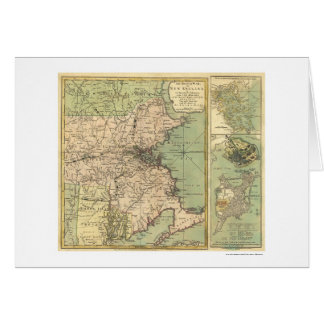 Mapa revolucionario de la guerra - 1775 tarjetas