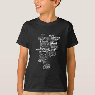 Mapa tipográfico de Co. Kildare Camiseta