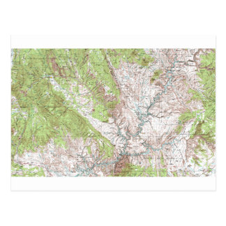 mapa topográfico de 1 x 2 grados postal