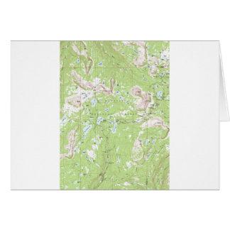Mapa topográfico felicitación