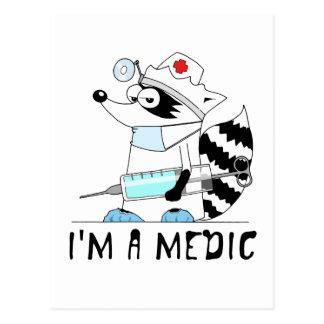 Mapache: Soy médico Postal
