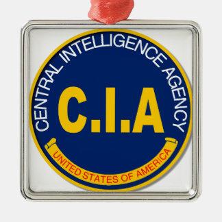 Maqueta del logotipo de la Cia Adorno Navideño Cuadrado De Metal