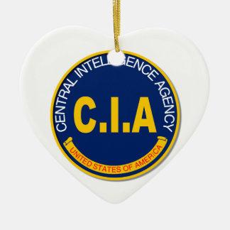 Maqueta del logotipo de la Cia Adorno Navideño De Cerámica En Forma De Corazón