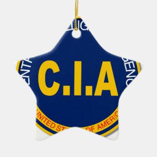 Maqueta del logotipo de la Cia Adorno Navideño De Cerámica En Forma De Estrella